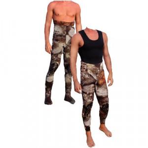 Pantalon bretelles CAMO 3D 3mm OMER