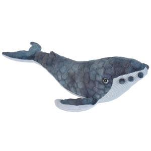 Peluche Baleine à bosse 30cm