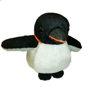 Peluche Pingouin empereur 15cm