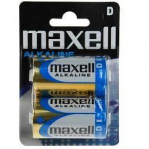 Piles Alkaline LR20 D par 2 MAXELL