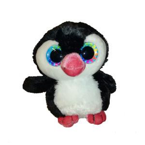 Peluche 13cm Pingouin noir blanc