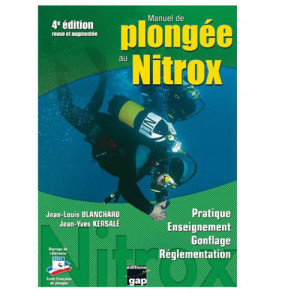 Livre MANUEL de la PLONGEE au NITROX GAP EDITIONS