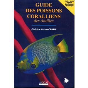 Livre Guide des poissons coralliens des antilles