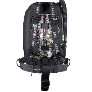 Harnais Psycho Calavera Single Backmount Set MARES XR