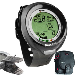 Pack PUCK PRO PLUS MARES + DIVE LINK + Diver Bag