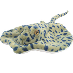 Peluche Raie point bleu 30cm