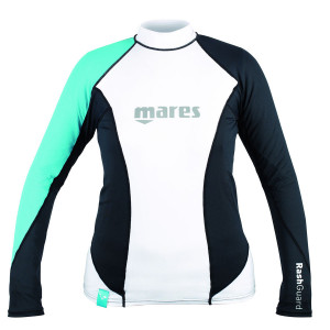 Top RASHGUARD MARES LOOSE FIT Manches Longues Dame Vert