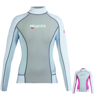 Top RASHGUARD She Dives MARES Manches Longues Dame 2016