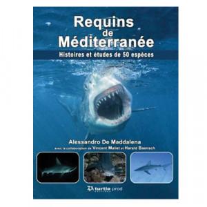 Livre Requins de Mediterranée TURTLE PROD