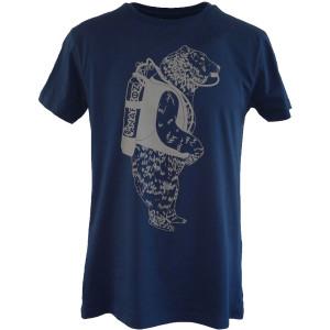 T-Shirt BEAR MARINE NARKOZ Bleu