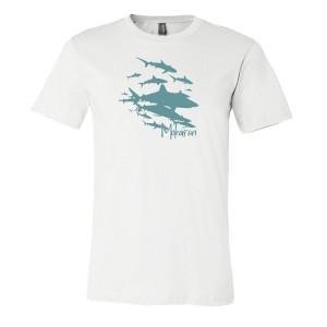 T-Shirt Shark Wall MOKARRAN