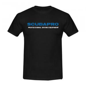 T-Shirt SCUBAPRO Noir