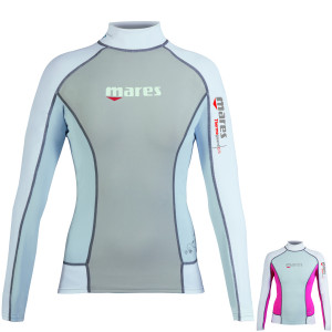 Top THERMOGUARD She Dives MARES 0.5mm Manches Longues Dame 2016