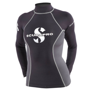 Top RASH GUARD EVERFLEX SCUBAPRO Manche Longues Dame