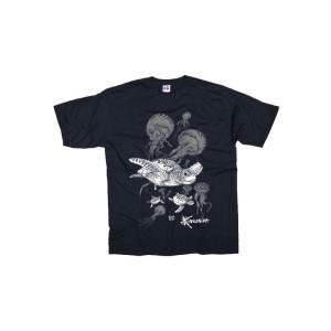 T-Shirt KANUMERA Le Banquet des Tortues Noir