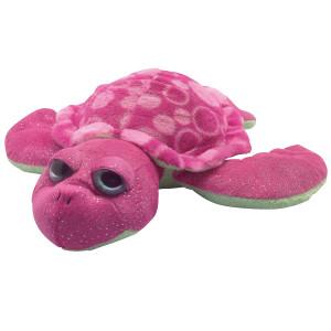 Peluche Bébé tortue ROSE 30cm