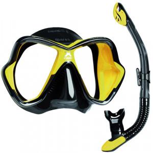 Pack Masque X Vision Liquid Skin + Tuba Ergo Dry MARES