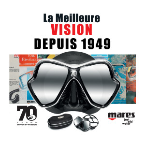 Masque X-VISION 70 ANS MARES Limited édition