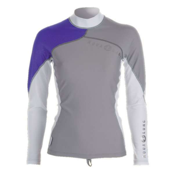 Lycra RashGuard ATHLETIC FIT AQUALUNG Dame manches longues