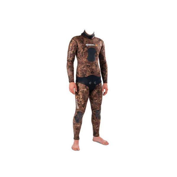 Combinaison Instinct Camo BROWN 7+5.5mm MARES