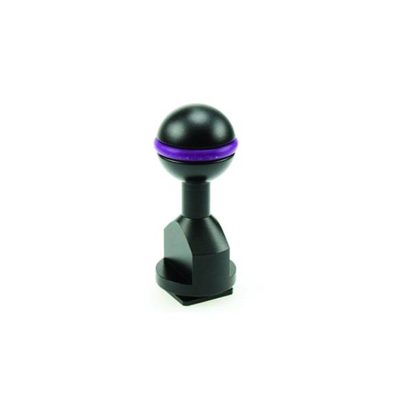 Embase I-DAS fixation à boule 25mm pour rail de caisson EX-iHOT