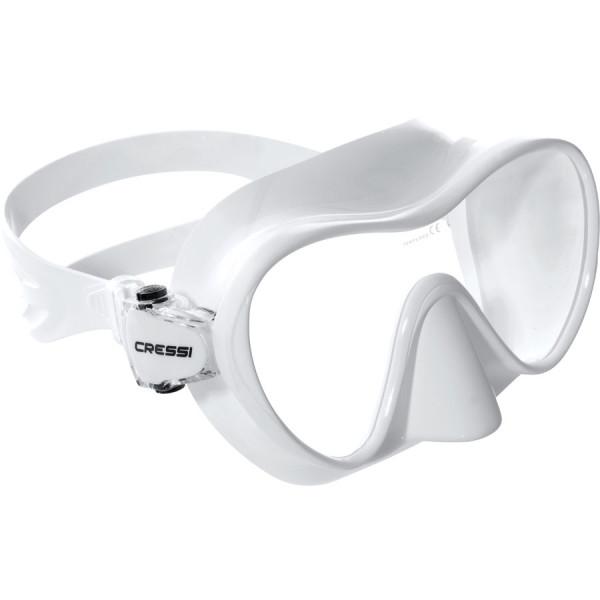 Masque F1 CRESSI Blanc