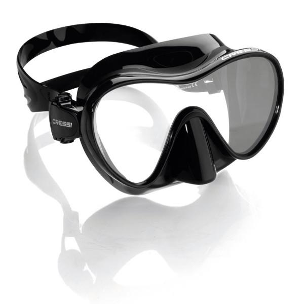 Masque F1 CRESSI Noir