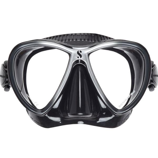 Masque TRUFIT Synergy Twin SCUBAPRO Noir Argent