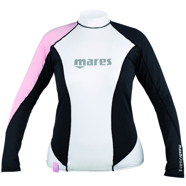 Top RASHGUARD MARES LOOSE FIT Manches Longues Dame Rose 2016