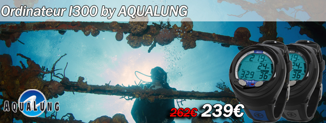 Ordinateur de plongée i300 de chez Aqualung