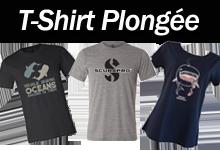 T-shirt plongée sous marine sur palanquee.com
