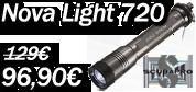 Lampe de plongée sous marine novalight 720 Scubapro