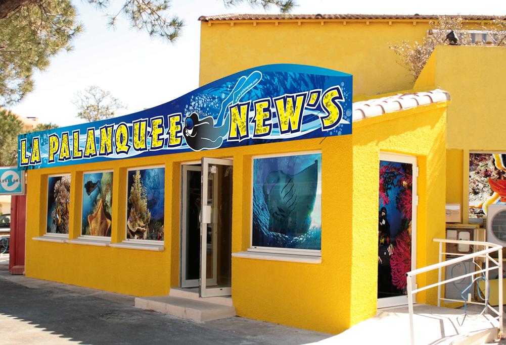 Le magasin La Palanquee New's à Palavas les Flots
